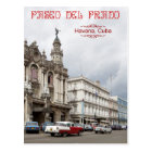 Großes Theater von Havana, Paseo Del Prado, Kuba Postkarte
