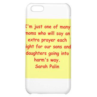 großes Zitat Sarahs Palin iPhone 5C Schale