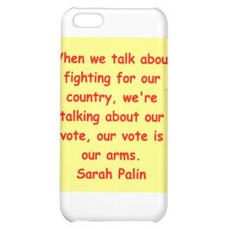 großes Zitat Sarahs Palin iPhone 5C Hüllen