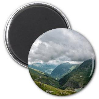 Grossglockner Talsek Runder Magnet 5,1 Cm