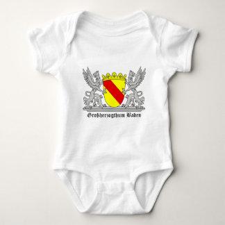 Großherzogthum Baden mit Schrift Baby Strampler