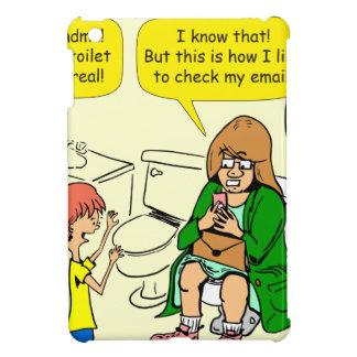 Großmutter 903 überprüft E-Mail-Cartoon iPad Mini Schale