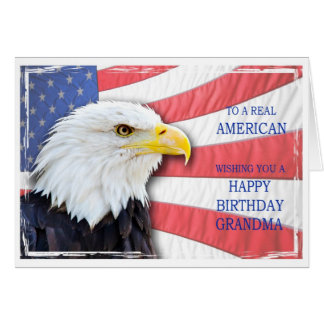 Großmutter, amerikanische Geburtstagskarte Grußkarte