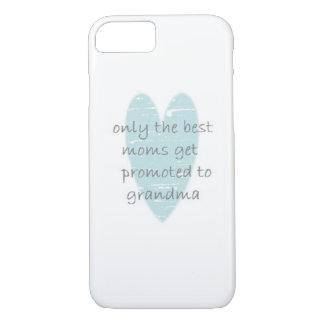 Großmutter-aquamariner Herz iPhone Fall iPhone 7 Hülle