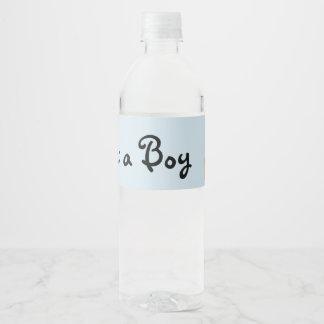 Großmutter-Babyparty-Wasser-Flaschen-Aufkleber Wasserflaschenetikett