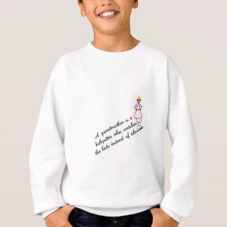 Großmutter-Babysitter Sweatshirt