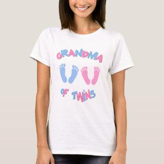 Großmutter der Doppelbaby-Abdrücke T-Shirt