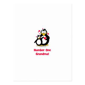 Großmutter der Nr.-eine Postkarte
