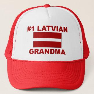 Großmutter des Latvian-#1 Truckerkappe