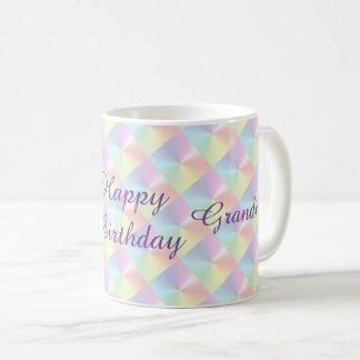 Großmutter-Geburtstags-Diamant-Schimmer-Tasse Tasse