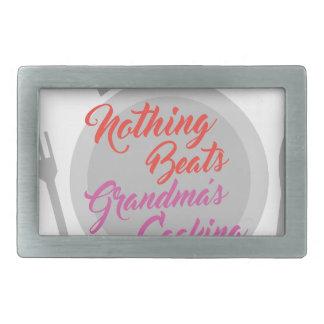 Großmutter-Kochen Rechteckige Gürtelschnallen