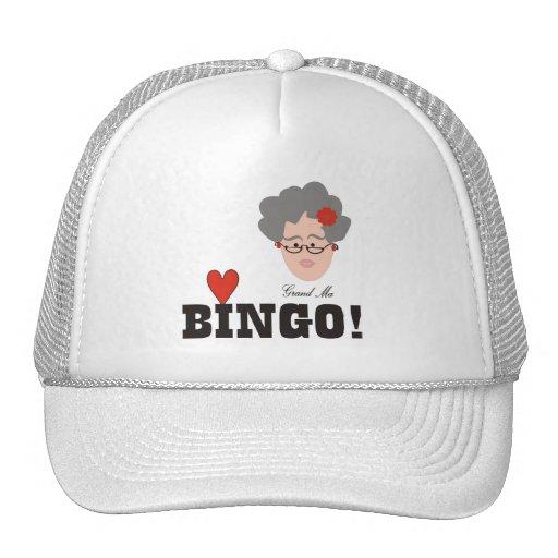 Großmutter-Liebe-Bingo-Hut Baseball Mütze