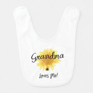 Großmutter-Lieben ich Babylätzchen