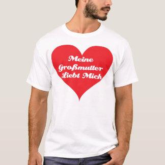 Großmutter-Lieben ich (Deutscher) T-Shirt