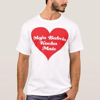 Großmutter-Lieben ich (Polnisches) T-Shirt