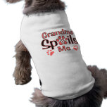 Großmutter verdirbt mich 1 Haustier-Shirt Hunde T Shirt