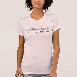Großmutter-Zeichen-SprachShirt T-Shirt
