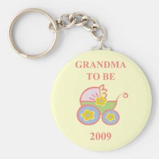 Großmutter, zum 2009 zu sein schlüsselanhänger