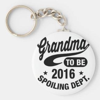 Großmutter, zum 2016 zu sein schlüsselanhänger