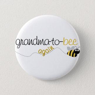 Großmutter zum Bienen-wieder T - Shirt Runder Button 5,1 Cm