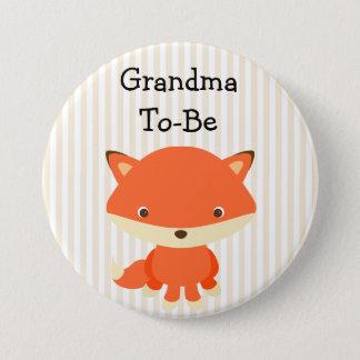 Großmutter, zum Knopf-Waldthema zu sein Runder Button 7,6 Cm