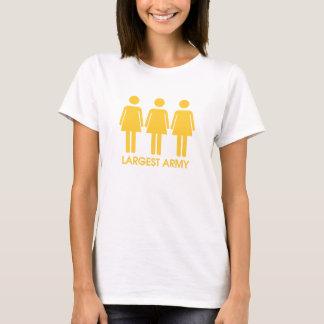 Größte Armee T-Shirt