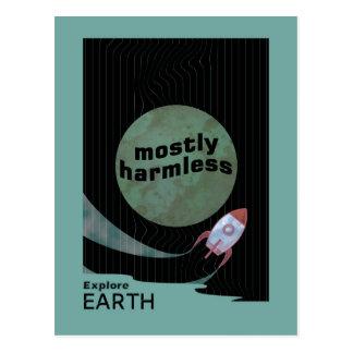 Größtenteils harmlos postkarte