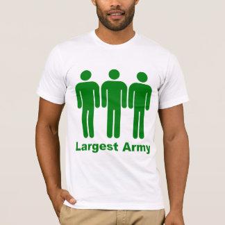 Größtes Armee-Grün T-Shirt