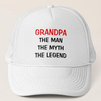 Großvater der Mannmythos- Legendenhut Truckerkappe