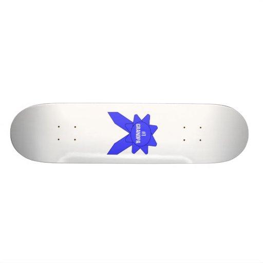 Großvater des blauen Band-#1 Skate Board