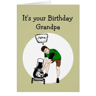 Großvater-Geburtstags-lustige Karte
