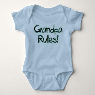 Großvater-Regeln! Baby Strampler