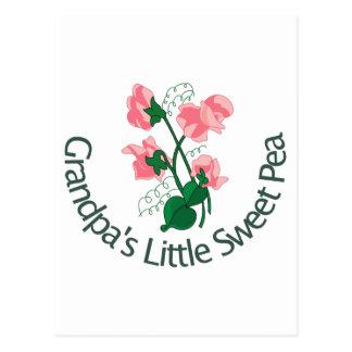 Großväter wenig süße Erbse Postkarte