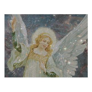 Großzügig - Schutzengel der Großzügigkeit Postkarte