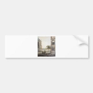 Grotekerksplein in Dordrecht durch Jakob van Strij Autoaufkleber