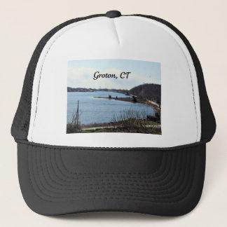 Groton, Connecticut, mystischer Fluss Truckerkappe