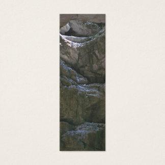 Grotten-Lesezeichen Mini Visitenkarte