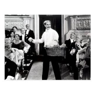 Groucho Marx-Bruder-Nacht an der Opern-Postkarte Postkarte