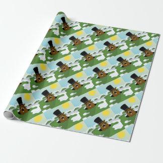 Groundhog Geschenkpapierrolle
