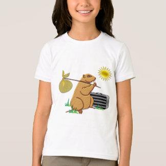 Groundhog läuft weg T-Shirt