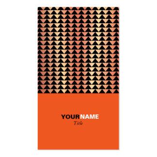 Groupon moderne Orange Visitenkarten