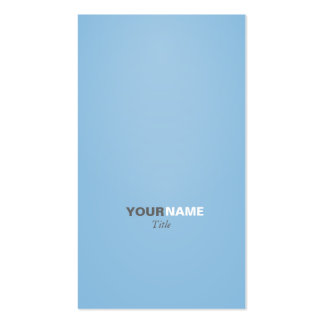Groupon moderner Schriftart friedvolles Blau Visitenkarten