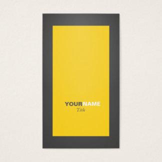 Groupon Vorsicht-Gelb Visitenkarte