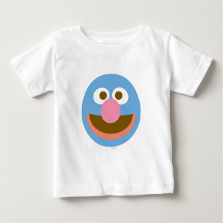 Grover-Baby-großes Gesicht Baby T-shirt