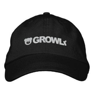 GROWLr justierbarer Hut Bestickte Mütze