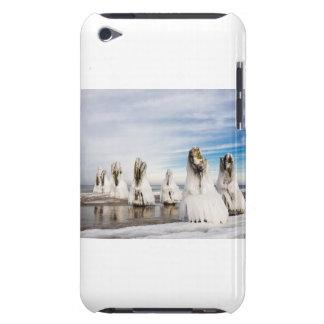 Groynes auf der Ostseeküste iPod Touch Case-Mate Hülle