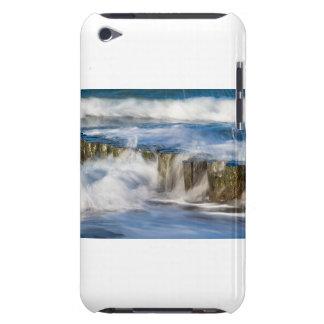 Groynes und Wellen auf der Ostsee fahren die Küste iPod Touch Case-Mate Hülle