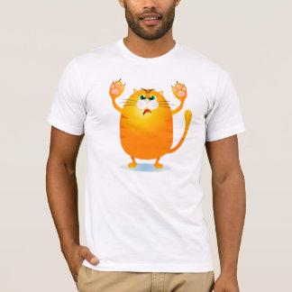 Grr! Lustige Cartoonkatze, T - Shirt