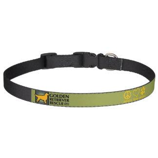 GRRNT FriedensLiebe-Rettungs-Kragen - groß Haustierhalsband
