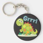 Grrr! Dinosaurier Keychain Schlüsselanhänger